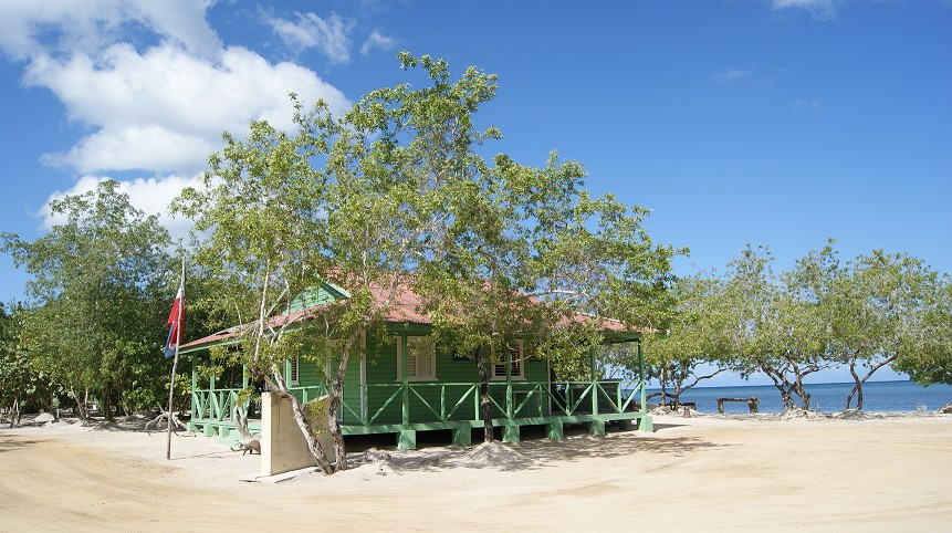 Entrance to Manati Park, Punta Rucia