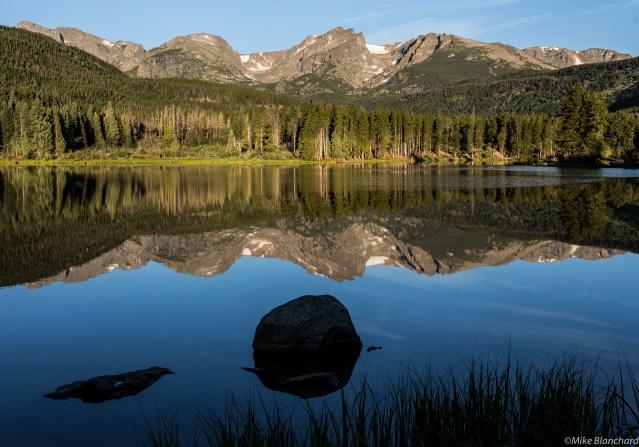Morning light at Sprague Lake