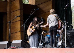 Jammin at the Folks Fest in Lyons,Co