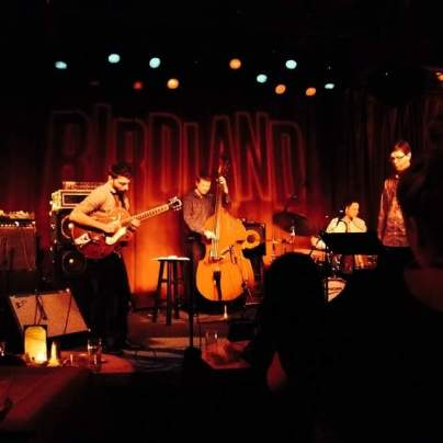 Mike Bono group at Birdland in NYC featuring Chris Cheek on saxophone