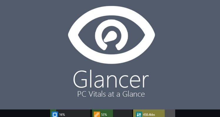 Introducing Glancer – PC Vitals at a Glance