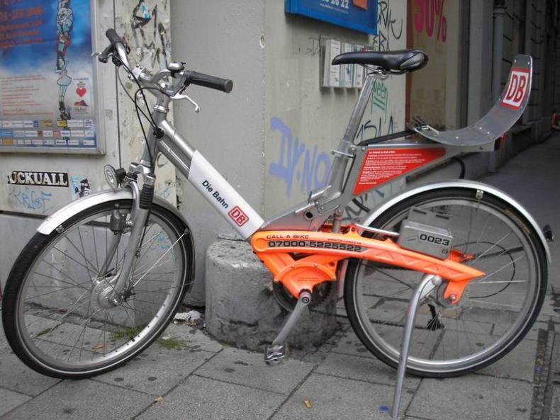 Bicis sistema alquiler en Munich