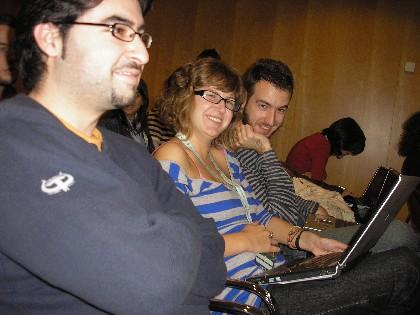 Participantes en el Evento Blog España EBE06