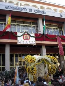 Salida de la Hermandad del Rocío de Córdoba en 2007