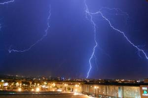 Tormenta de rayos sobre Córdoba 11-09-07
