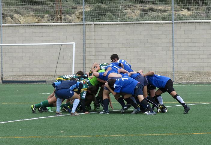 Trabajo en equipo Rugby