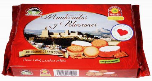 Mantecado y Polvorones halal de Antequera.