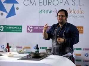 Juan Pablo Gámez, Chef del RestauranteLos Sentidos de Linares en TweetsAOVE martos