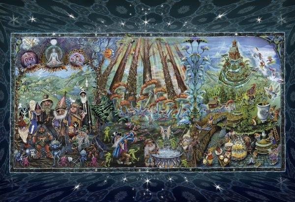 Forest Friends by Michael Dubois Wallpaper