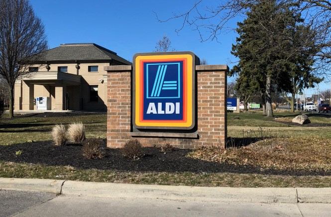 Shop at Aldi