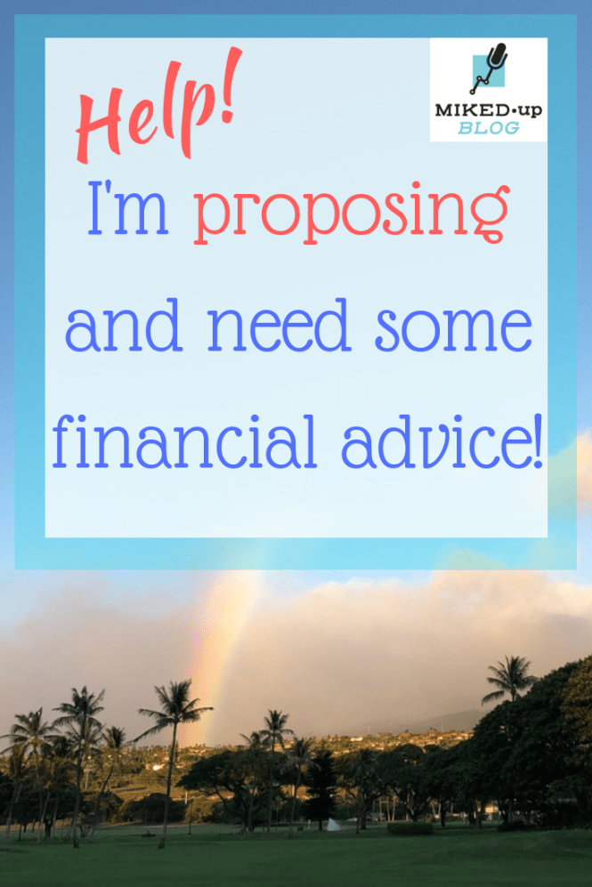 Help!! I'm Proposing and Need Some Financial Advice!! #creditcards #proposing #highyield #savings #personalfinance