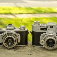 Kodak 35 Original & Rangefinder (1939 & 1948)