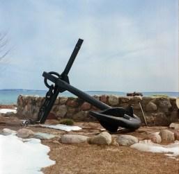 An anchor.