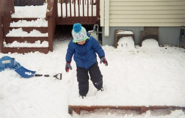 """This was the closest to an """"action"""" shot as I was willing to take, but I had no problem freezing motion on a moving child."""