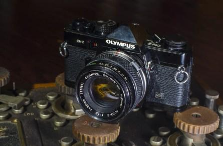 Olympus OM-2 MD (1975) - mike eckman dot com