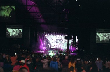 This was the last image on the roll and taken at night at a P!nk concert! I was quite impressed with how it came out.