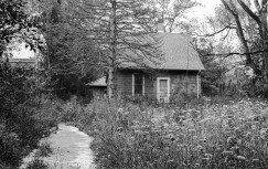 Abandoned houses and black and white film go well together.