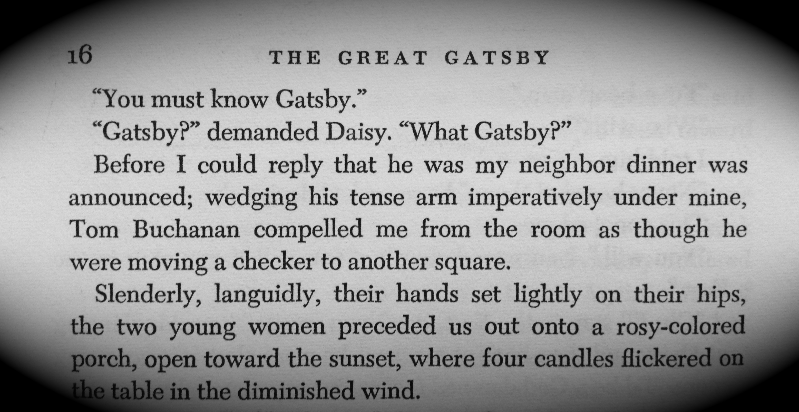 The Great Gatsby « It's Mike Ettner's Blog