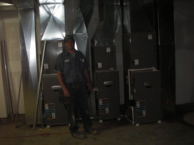 Heating Unit Installation