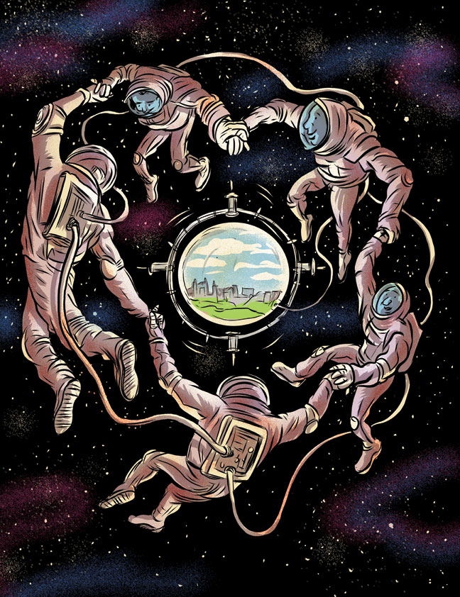 Space Utopias for Current Affairs