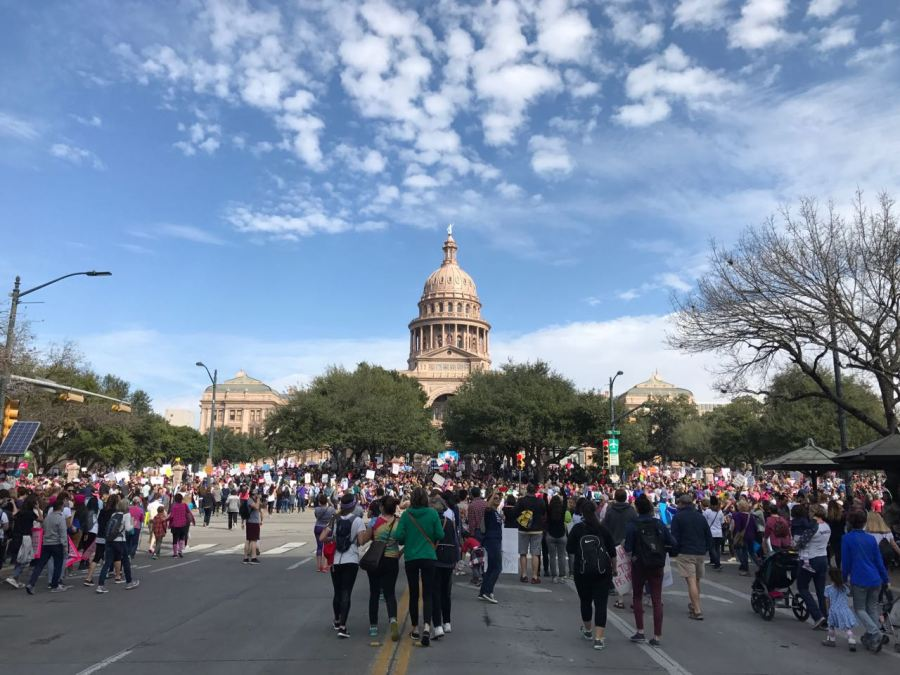 The Women's March on Austin - The Texas Capitol