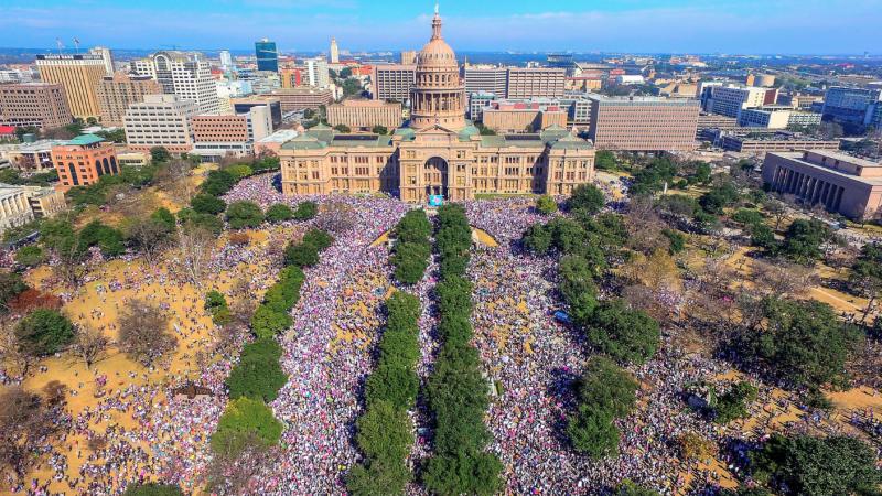 Women's March on Austin