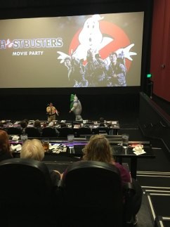 Ghostbusters movie party at Alamo Drafthouse