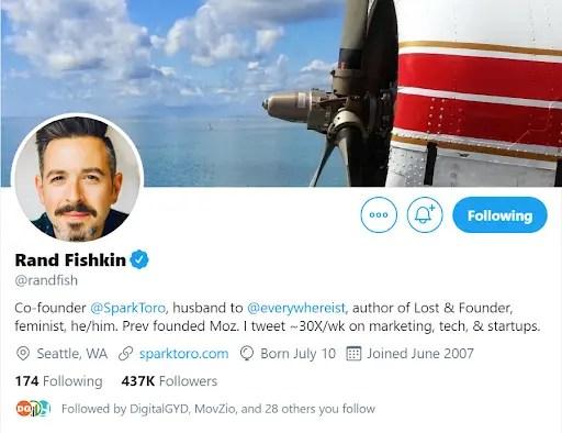 Rand Fishkin SEO Twitter