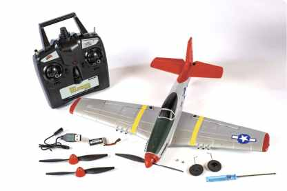 Rage P-51D Mustang Micro RTF Airplane Parts