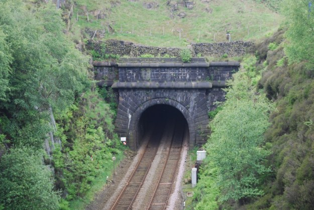 Summit Tunnel, Lancashire:  south portal
