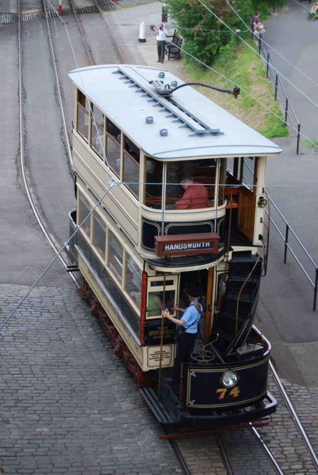 National Tramway Museum, Crich, Derbyshire:  Sheffield 74