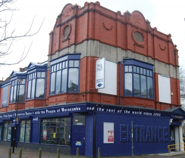 Former Devonshire Hall music hall, Morecambe, Lancashire
