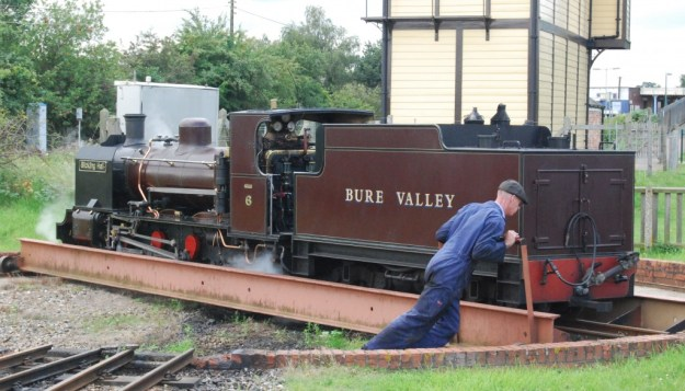 Bure Valley Railway:  Wroxham