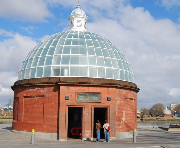 Greenwich Foot Tunnel, south entrance