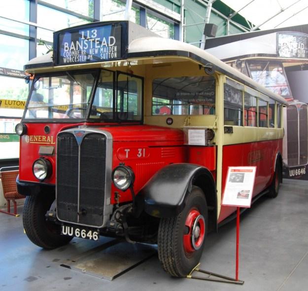London Bus Museum, Brooklands:  T31