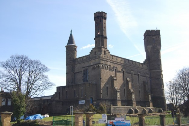 Former Green Lanes Pumping Station, now the Castle Climbing Centre, Stoke Newington, London