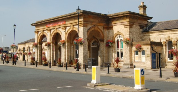 Saltburn-by-the-Sea, North Yorkshire:  railway station