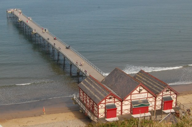 Saltburn-by-the-Sea, North Yorkshire:  the pier