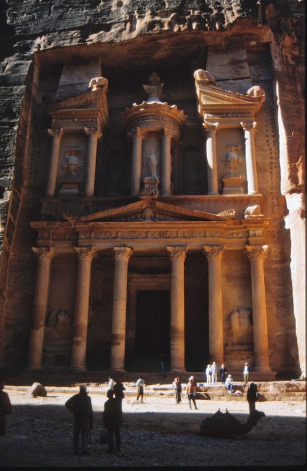 Al Khazneh or The Treasury, Petra