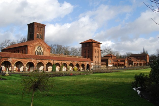 Golders Green Crematorium, London