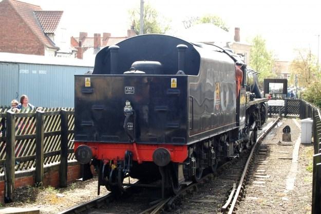 North Yorkshire Moors Railway, Pickering Station:  BR loco 45407