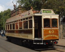 National Tramway Museum Crich Derbyshire