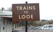 Trains Looe Mike Higginbottom Interesting Times