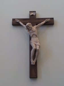 Cross from St. Peter the Apostle CHS Chapel