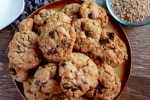No Guilt Peanut Butter Chocolate Chip Cookies