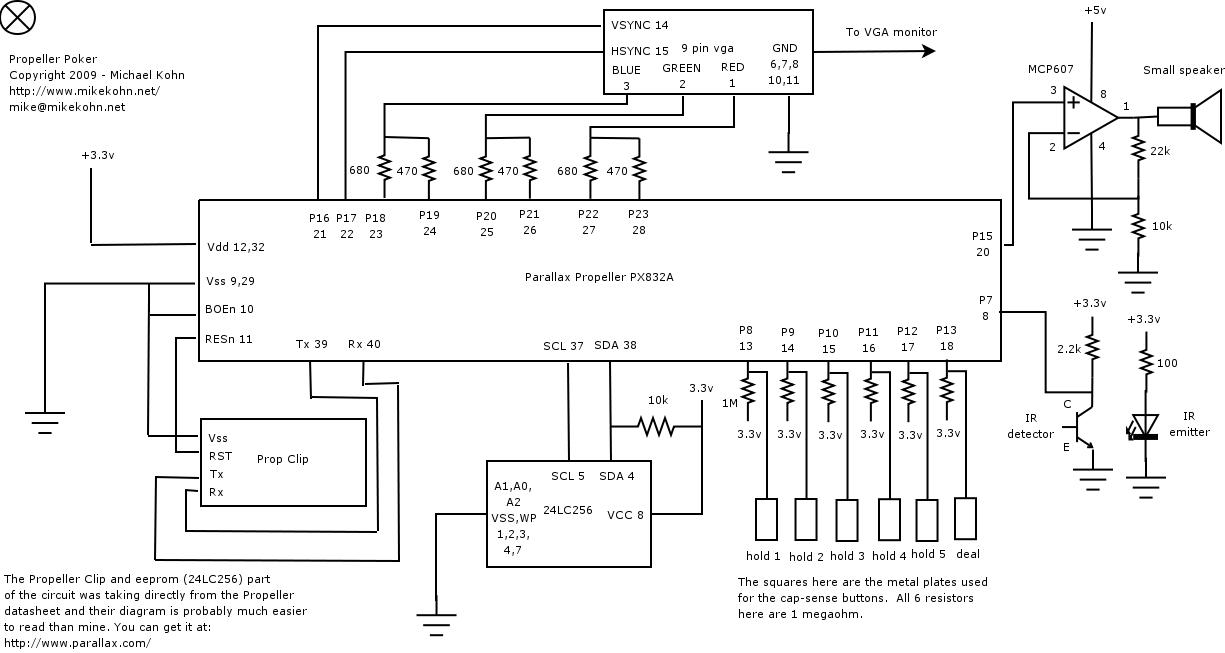 hight resolution of parallax propeller poker schematic
