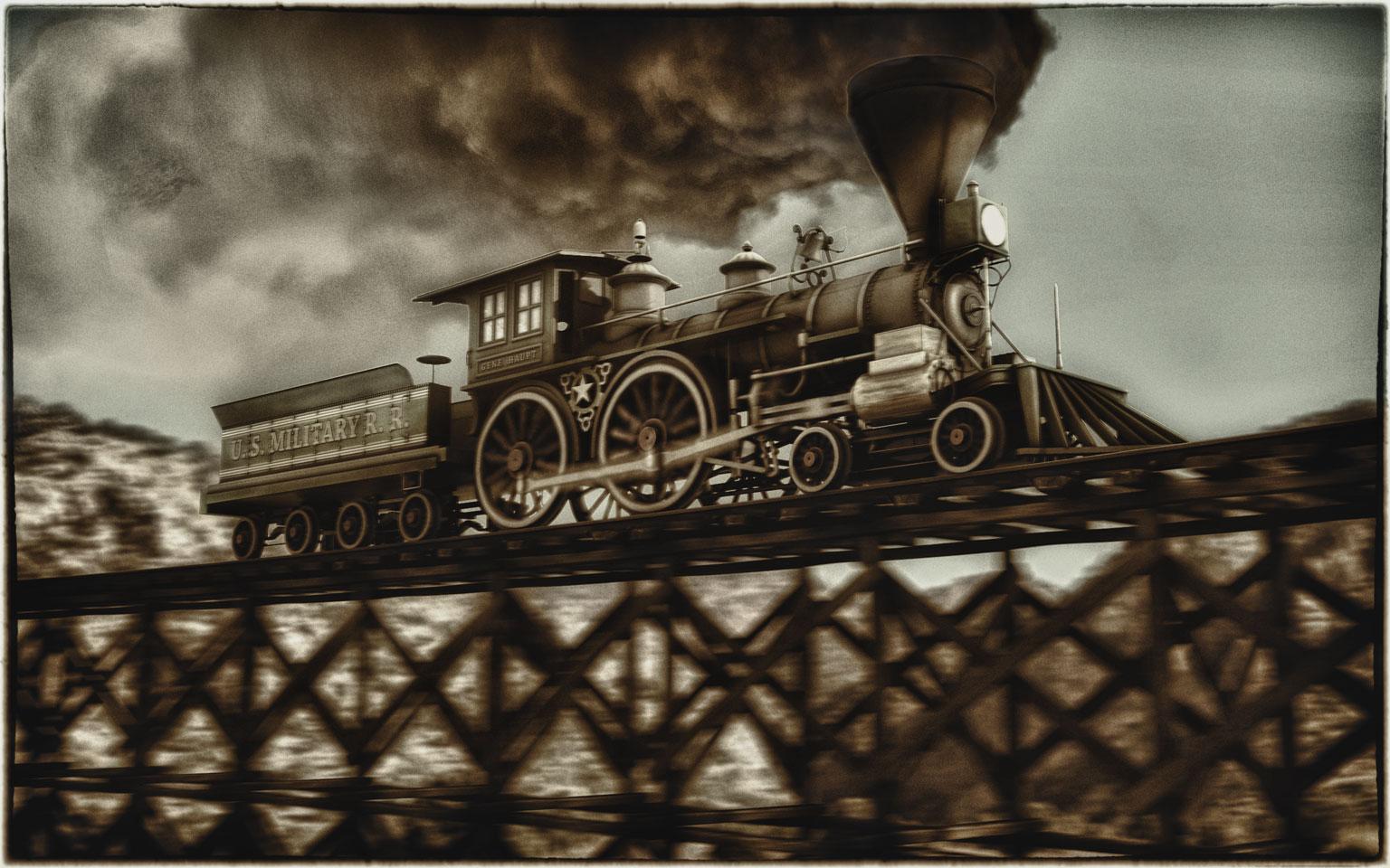 After-General Locomotive