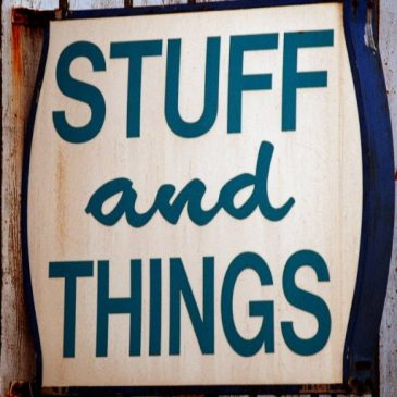 Stuff and Things Sign