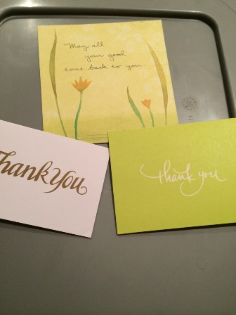 Linked: Writing a thank-you note is more powerful than you think