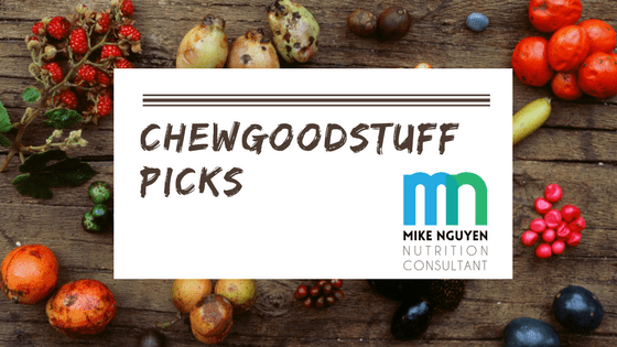 chewgoodstuff picks: GROW protein bars, Jicama chips, Ginger/Turmeric tea